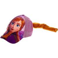 Claire's ©Disney Frozen 2 Anna Baseball Cap With Hair - Baseball Gifts
