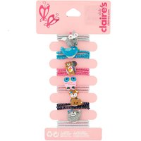 Claire's Claire's Club Furry Friends Hair Bobbles - 6 Pack - Hair Gifts