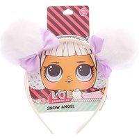Claire's L.o.l. Surprise!™ Snow Angel Spacebuns Headband - White - Lol Surprise Gifts