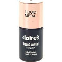 Claire's Rose Gold Liquid Metal Nail Polish - Nail Gifts