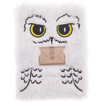 Claire's Harry Potter™ Hedwig Soft A5 Notebook With Mini Notebook – White - Soft Gifts