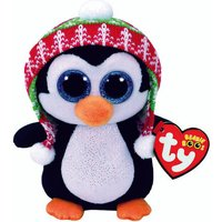 Claire's Ty Beanie Boo Penelope The Penguin Small Soft Toy - Soft Toy Gifts