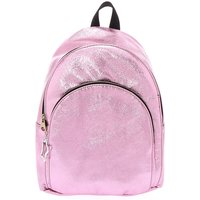 Claire's Metallic Midi Backpack - Pink - Backpack Gifts
