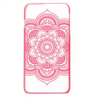 Claire's Hot Pink Frosted Mandala Phone Case - Fits Iphone 6/7/8 - Phone Gifts
