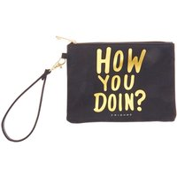 Claire's Friends™ How You Doin? Wristlet – Black - Black Gifts