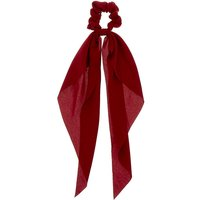 Claire's Scarf Hair Scrunchie - Burgundy - Scarf Gifts