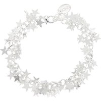 Claire's Silver Star Chain Bracelet - Fashion Gifts