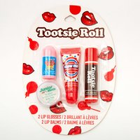 Claire's Tootsie Roll Candy Lip Balm & Gloss - 4 Pack - Candy Gifts