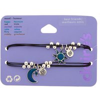 Claire's Mood Sun & Moon Friendship Bracelets - 2 Pack - Sun Gifts