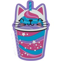 Claire's Sweetimals Cattuccino Silicone Notebook - Purple - Notebook Gifts