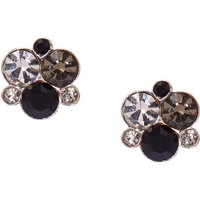 Claire's Sterling Silver Crystal Bubble Cluster Earrings - Earrings Gifts