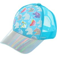 Claire's Colour Changing Unicorn Baseball Cap - Baby Blue - Baby Gifts