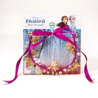 Claire's ©Disney Frozen 2 Hair Wreath - Purple - Polka Dot Gifts
