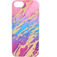 Claire's Rainbow Marble Ipod Touch 5/6 Case - Ipod Gifts