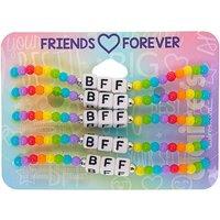 Claire's Rainbow Bead Stretch Friendship Bracelets - 5 Pack - Friendship Gifts