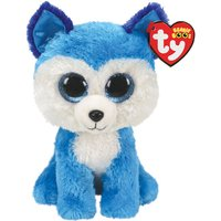 Claire's Ty Beanie Boo Small Prince The Husky Soft Toy - Toy Gifts