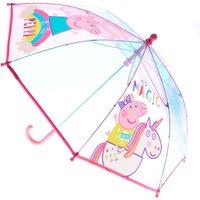 Claire's Peppa Pig Unicorn Plastic Umbrella - Umbrella Gifts
