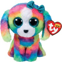 Claire's Ty Beanie Boo Small Lola The Dog Soft Toy - Ty Beanie Boos Gifts