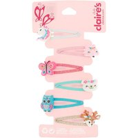Claire's Club Animal Snap Hair Clips - 6 Pack - Hair Gifts