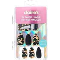 Claire's Camo Matte Stiletto False Nails - Camo Gifts