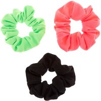 Claire's Small Neon Watermelon Hair Scrunchies - 3 Pack - Neon Gifts