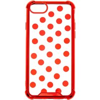 Claire's Red Polka Dot Phone Case - Fits Iphone 6/7/8/se - Polka Dot Gifts