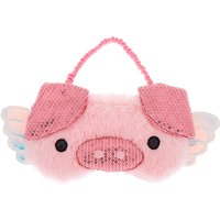 Claire's When Pigs Fly Sleeping Mask - Pink - Pigs Gifts