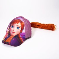 Claire's ©Disney Frozen 2 Anna Baseball Cap With Hair - Baseball Gifts