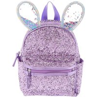Claire's Bella The Bunny Glitter Mini Backpack - Lilac Purple - Lilac Gifts