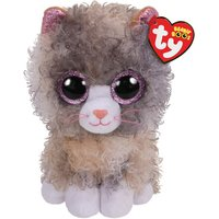 Claire's Ty Beanie Boo Small Scrappy The Cat Soft Toy - Beanie Gifts