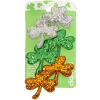 Claire's 6 Pack St. Patrick's Day Shamrock Hair Clips - St Patricks Day Gifts
