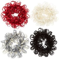 Claire's Fall Fun Looped Hair Scrunchies - 4 Pack - Fun Gifts