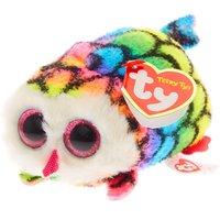 Claire's Teeny Ty Hootie The Owl Soft Toy - Soft Toy Gifts