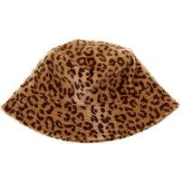Claire's Fuzzy Leopard Print Bucket Hat - Leopard Print Gifts