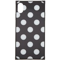 Claire's Black Polka Dot Phone Case - Fits Iphone Xs Max - Polka Dot Gifts