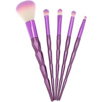 Claire's Sparkly Brush Set - Purple, 5 Pack - Sparkly Gifts