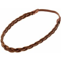 Claire's Plaited Faux Hair Headwrap - Light Brown - Hair Gifts