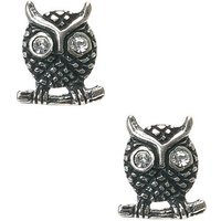 Claire's Sterling Silver Vintage Owl Stud Earrings - Vintage Gifts