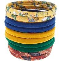 Claire's Rolled Vintage Floral Hair Ties - 10 Pack - Ties Gifts
