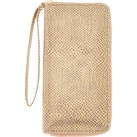 Claire's Snake Skin Wristlet - Gold - Snake Gifts