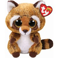 Claire's Ty Beanie Boo Small Rusty The Raccoon Soft Toy - Beanie Gifts