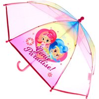 Claire's Shimmer & Shine Rainbow Plastic Umbrella - Umbrella Gifts