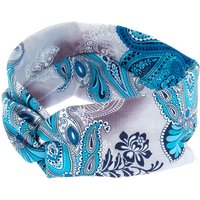 Claire's Paisley Print Knot Headwrap - Turquoise - Turquoise Gifts