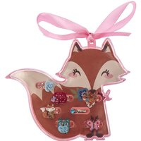 Claire's Kids Fiona The Fox Adjustable Woodland Friends Rings - Rings Gifts