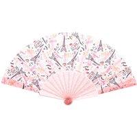 Claire's Paris Folding Fan - Pink - Paris Gifts