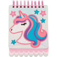 Claire's Miss Glitter The Unicorn Layered Notebook - Glitter Gifts