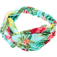 Claire's Hibiscus Flower Headwrap - Mint - Mint Gifts