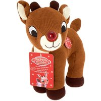 Claire's Rudolph The Red-Nosed Reindeer Singing Plush Toy - Reindeer Gifts