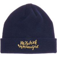 Claire's Harry Potter™ Mischief Managed Beanie Hat – Blue - Harry Potter Gifts