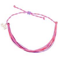 Claire's Thread Statement Bracelet - Pink - Fashion Gifts